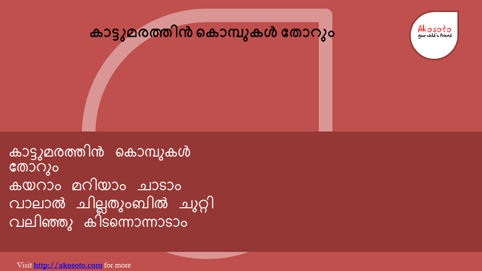 Kaattumarathin kombukal Thorum Song from akosoto (2)